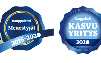 Vihertaso Oy:lle Kauppalehden Kestomenestyjä- ja Kasvaja-sertifikaatit